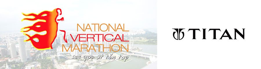 Titan – Official Time keeper of Nation Vertical Marathon 2016