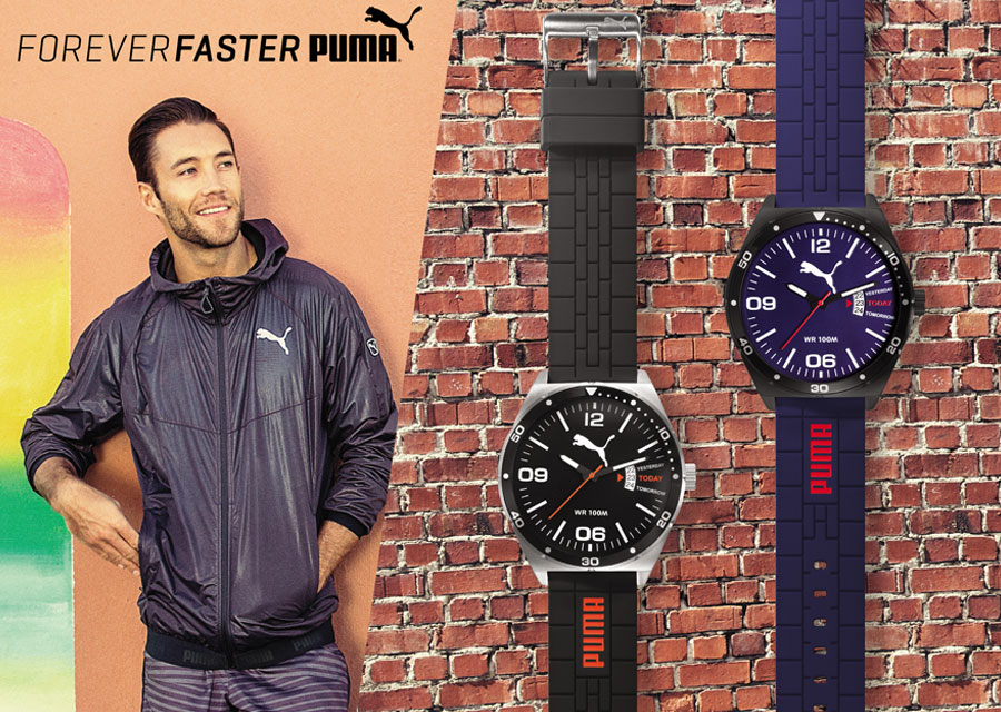 PUMA launch Forever Faster watch collection