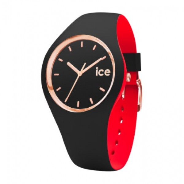 ICE LOULOU BLACK ROSE-GOLD MEDIUM (M) 007236